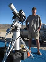 Bob Lockwood of San Diego, CA - Portable Telescope Pier