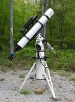 George Whitney - Portable Telescope Pier