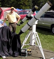 Greg Piepol - Portable Telescope Pier